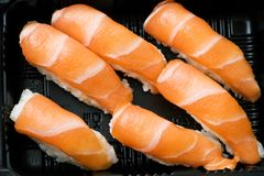 Japanese sushi seafood Stock Images