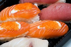 Japanese sushi seafood Stock Photography