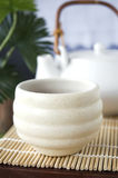 Close up japanese tea cup Royalty Free Stock Photos