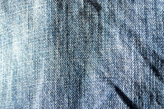 Close up of Jeans Royalty Free Stock Photos