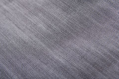Close up of jeans material - texture background Stock Images