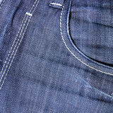 Close-up of Jeans pocket Royalty Free Stock Photos