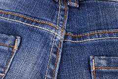 Close up of jeans texture Stock Images