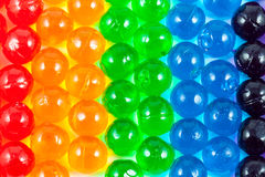 Close up jelly ball. Close up colorful jelly ball Royalty Free Stock Photos