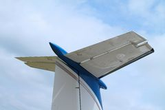 Close up of Jet Tail Stock Photo