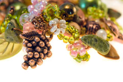 Close-up jewelry isolated Royalty Free Stock Photos