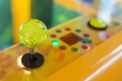 Close up Joystick of arcade.  Stock Images