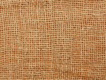 Close up of a jute bag Stock Image