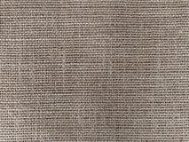 Close-up of jute fabric texture Stock Image
