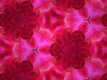 Close up kaleidoscope art abstract pattern texture background Royalty Free Stock Photography