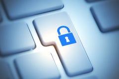 Security and encryption concept Stock Photos