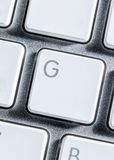 Close up of keyboard of a pc Stock Image