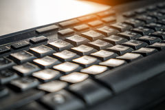 Close up keyboard Soft focus and blurred Stock Images