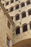 Close up of King Square (Barcelona) Royalty Free Stock Photo