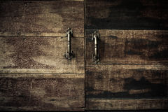 Close-up Kitchen  cabinet doors, Vintage tone. Close-up Kitchen  cabinet doors, Vintage tone Royalty Free Stock Photos