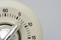 Close up of kitchen timer Stock Images