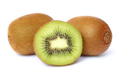 Close up kiwi fruit Stock Photos