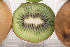 Close-up of kiwi fruit Stock Photos