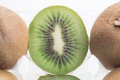 Close-up of kiwi fruit Stock Image