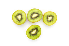Close up kiwi fruits and slice kiwi fruits Royalty Free Stock Photography