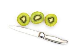 Close up kiwi fruits and slice kiwi fruits Royalty Free Stock Photography