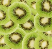 Close up of kiwi slices Stock Photos