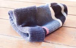 Close up knit wool hat Stock Photo