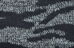 Close-up of knitted wool texture Royalty Free Stock Image