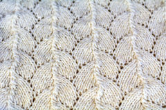 Close-up of knitted wool texture. Royalty Free Stock Photo