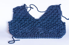 Close-up of knitting Royalty Free Stock Photography