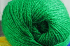 Close up Knitting Royalty Free Stock Photography