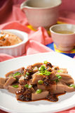 Close up of Korean dish. Stock Images