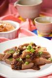 Close up of Korean dish. Stock Images