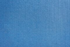Close up kraft blue paper box texture and background. royalty free stock image