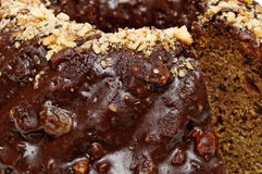 Close up of Kuglof cake Royalty Free Stock Photography