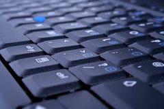 Close-up of laptop keyboard Stock Photos