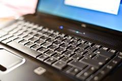 Close-up laptop with shallow DOF Stock Image