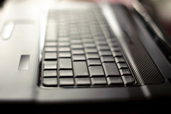 Close-up laptop with shallow DOF Royalty Free Stock Photography