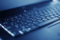 Close-up laptop with shallow DOF Stock Photography