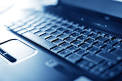 Close-up laptop with shallow DOF Stock Image