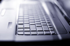 Close-up Laptop With Shallow DOF Stock Images