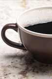 Close up of Large Coffee Mug Stock Photo