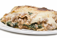 Close up from a lasagna. Stock Photography