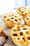 Close up of lattice baked treats Royalty Free Stock Photography