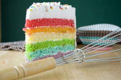 Close up layer cake Stock Photography