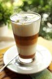 Close up layer coffee Stock Photos