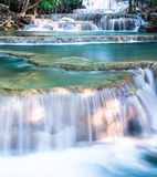 Close up on layer of waterfall Stock Photo