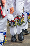 Legs of dancing morris men Royalty Free Stock Photo