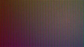 Close-up LEIDENE diode van de vertoning de LEIDENE van het HOOFDmonitorscherm van TV of Stock Afbeelding