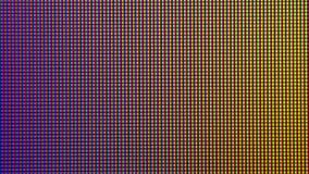 Close-up LEIDENE diode van de vertoning de LEIDENE van het HOOFDmonitorscherm van TV of Royalty-vrije Stock Fotografie
